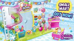 shopkins moose - cute toy! supermarket playset