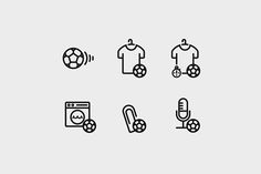 RB Sports Academy Icons on Behance