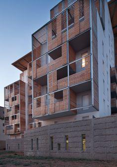 Logements collectifs - Architecte : Atelier du Pont
