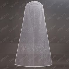 DressWe - DressWe Waterproof Transparent Glass Sand Dustproof Garment Bag - AdoreWe.com