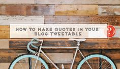 VIDEO: how to make quotes in your blog tweetable | The {well} Studio