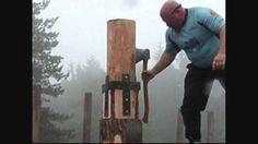 Lo show dei boscaioli professionisti