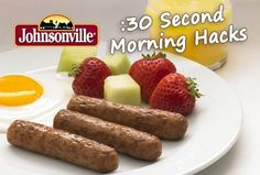 #Johnsonville is our special guest for #30SecondMom Twitter chat on Thursday, September 18, 10:30amCT. We're talking brilliant #MorningHacks and giving away amazing prizes. Register now!