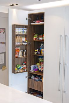 Roundhouse bespoke kitchen storage
