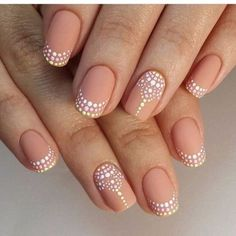 French Nail Art designs are minimal yet stylish Nail designs for short as well as long Nails. Here are the best french manicure ideas which are gorgeous. French Nails, French Manicure With Design, French Pedicure Designs, French Manicures, Nail Polish Designs, Nail Art Designs, Unique Nail Designs, Nude Nails, My Nails
