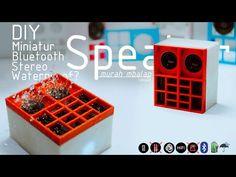 Membuat Miniatur CBS Bluetooth Speaker anti air super bass mini hifi speaker - YouTube  #miniaturespeaker #speakerboxdesign #minispeakerbox #bluetoothspeaker Autocad Inventor, Passive Radiator, Hifi Speakers, Waterproof Speaker, Sideboard, Bluetooth, Training, Make It Yourself, Electronics