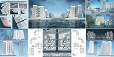 #AUBemerge  The sea waterfront. A concept of a residential architecture in Saint-Petersburg.