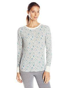 12a698f7e89696 Hanes Women's X-Temp Thermal Underwear Crew Shirt at Amazon Women's  Clothing store: