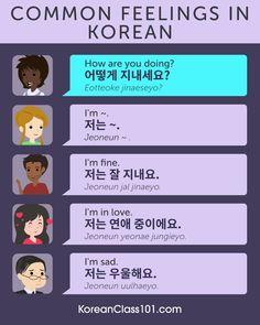 😻🙀😿 How do you feel now? Answer in Korean! Korean Words Learning, Korean Language Learning, Learning Spanish, Learning Italian, Spanish Activities, Learn Basic Korean, How To Speak Korean, Korean Lessons, Spanish Lessons