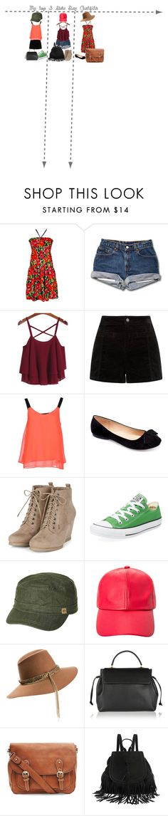 """""""My Top 3 Gala Outfits"""" by bubblybrownie ❤ liked on Polyvore featuring ONLY, Machi, Converse, Rip Curl, Ashley Stewart, Maison Michel and Lanvin"""