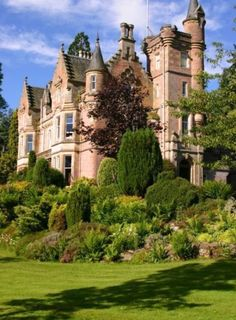 Aigas House, Scottish Highlands