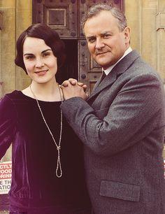 Lady Mary and Papa Crawley