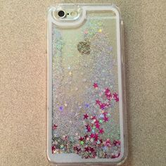 iPhone 6 Waterfall Case Extra pics iPhone 6 stars & glitter waterfall hard case~ Now available! IPhone Accessories