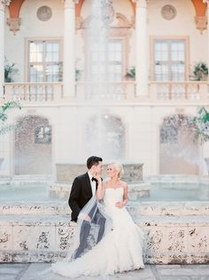 Tied the knot: Brittany + Jeremy at The Biltmore Hotel in Miami - Michelle March Photography - South Florida / Miami Wedding Photographer - Vintage . Lazaro . Plum Pretty Sugar . Jimmy Choo