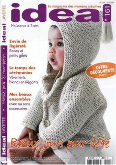 Crochet Books, Knit Crochet, Crochet Hats, Knitting Magazine, Crochet Magazine, Baby Knitting Patterns, Baby Patterns, Baby Corner, Baby Sweaters