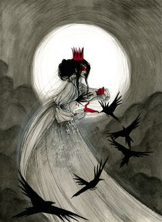 The Raven Queen by KmyeChan on deviantART
