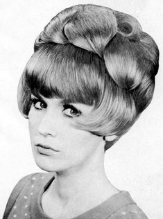 he wears his hair to please her #BouffantHairBob