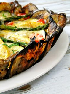 vegetable tart with eggplant crust - eggplant recipes Vegetable Recipes, Vegetarian Recipes, Cooking Recipes, Healthy Recipes, Budget Cooking, Oven Recipes, Vegetarian Cooking, Easy Cooking, Easy Recipes