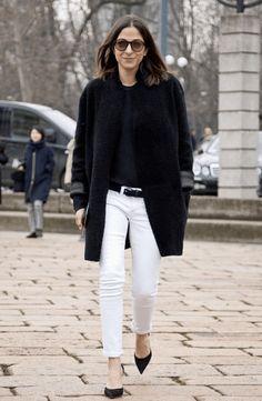 Fashion Editors Share Their 15 Styling Secrets: White Denim