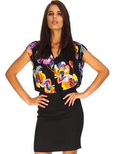 FLORAL FUSION DRESS