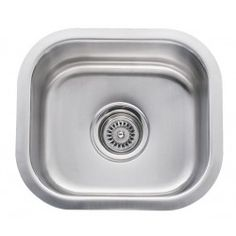 Merveilleux 14 Inch Stainless Steel Undermount Single Bowl Kitchen / Bar / Prep Sink    18 Gauge * Click Image For More Details.