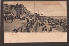 Brighton, Kings Road. Hold-to-Light Postcard. WH of Berlin. in Collectables…