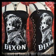 CUSTOM SIZE! DARYL DIXON*DIY*TANK TOP M The Walking Dead Norman Reedus T-shirt  #Handmade #TankCami #RockConcert