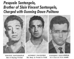Buffalo Police Then and Now - Pascal Politano Mobster Shot Down Italian Gangster, Conscientious Objector, Mafia Gangster, Buffalo New York, John R, The Godfather, Mug Shots, Then And Now, Wwi