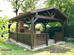 Backyard, Patio, Gazebo, New Homes, Sweet Home, Exterior, Outdoor Structures, Outdoor Decor, Garden