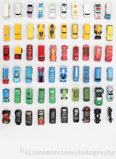 """Toy Cars Collection, photographic print 7"""" x 5"""""""