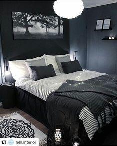 Blue and Black Bedroom. Blue and Black Bedroom. Navy Blue Black Bedroom Ideas Home Delightful Homes Decor Bedroom Inspo, Home Decor Bedroom, Bedroom Ideas, Bedroom Furniture, Design Bedroom, Bedroom Inspiration, Furniture Plans, Black Bed Room Ideas, Bedroom Apartment