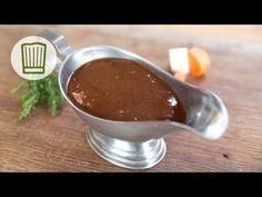 Basiswissen dunkle Grundsauce #chefkoch - YouTube