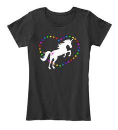 Discover Unicorn Rainbow Heart / Shirts Damen T-Shirt from Peace n' Love, a custom product made just for you by Teespring. Heart Shirt, Rainbow Heart, Shirts, Tees, Unicorn, Hoodies, Mens Tops, Fashion, Lilac