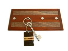 Decorative Key Holder For Wall key holder / wall hanging key holder / wood key holder / magnetic