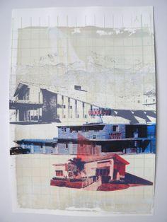 Emily Moore - Boston series Art Journals, Printmaking, Collages, Screen Printing, Boston, Mixed Media, Goodies, Creations, Illustration