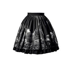 "Fanplusfriend Women's ""Machine Birdcage"" Steampunk Lolita with... (490 VEF) ❤ liked on Polyvore featuring skirts"