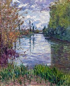 Gustave Caillebotte - G. Art Français, Impressionist Artists, Post Impressionism, Monet, French Art, Beautiful Landscapes, Landscape Paintings, Art Gallery, Fine Art Prints