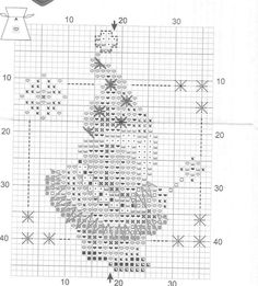 Père Noël liste Reindeer Sampler Père Noël point de croix Diagramme X6