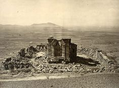 Sun temple martand indogreek - History of Kashmir - http://en.wikipedia.org/wiki/History_of_KashmirGeneral view of Temple and Enclosure of Marttand or the Sun, near Bhawan. Probable date of temple AD 490-555. Probable date of colonnade AD 693-729. Photograph of the Surya Temple at Martand in Jammu & Kashmir taken by John Burke in 1868.