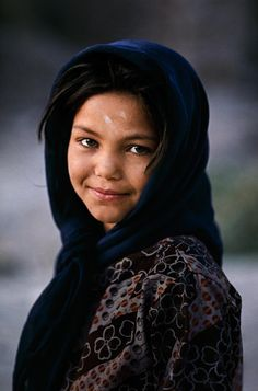 Nuristan, Afghanistan girl, photo by Steve McCurry