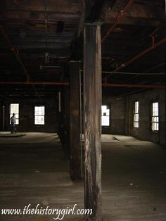 Interior of the Geo. W. Helme Snuff Mill in Helmetta, NJ. This image was taken during an arranged tour in 2006. It was once the largest producer of sweet snuff in the United States. Snuff was produced at this site since at least the 1850s, until the site closed in 1993. George W. Helme (1822-1893) created a true company town by building 105 homes to house his workers, a general store, and company clubhouse. Discover more history @ www.thehistorygirl.com