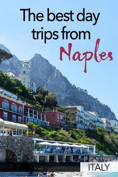 These are the best day trips from Naples in Italy. Naples is a great place to base yourself while you explore the region. There are great day trips you can do from Naples - including Pompeii, Capri, Caserta, and Paestum. Here are my tips for the best thin Best Places In Italy, Things To Do In Italy, Cool Places To Visit, Italy Travel Tips, Travel Destinations, Travelling Tips, Travel Info, Travel Europe, Travel Guides