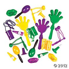 Mardi Gras Noisemaker Assortment - 21/100 -- maybe it will go on sale in time?