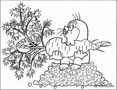 klikni pro další 320/384 Automata, Autumn, Fall, Coloring Books, Kindergarten, Crafts For Kids, Mandala, Cartoon, Nature