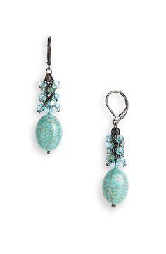 LOVE!! Dabby Reid Ltd. Crystal Cluster Drop Earrings   Nordstrom