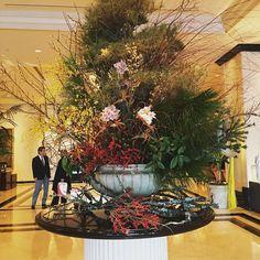 正月仕様 #ホテルロビー  #名古屋マリオットアソシア