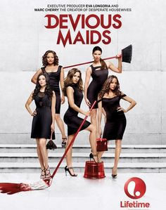 Devious Maids - best new show of the summer - super fun!  Hate to see it end & hope it will be back