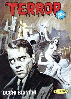 Terror Blu 21 - Occhi bianchi cover