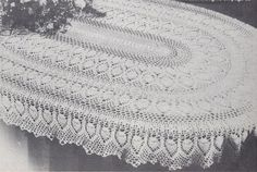 Inspirational Rare Vhtf Oval Pineapple Tablecloth Crochet Pattern X Free Cro. Inspirational Rare Vhtf Oval Pineapple Tablecloth Crochet Pattern X Free Crochet Tablecloth P Thread Crochet, Filet Crochet, Crochet Motif, Crochet Doilies, Cotton Crochet, Crochet Tablecloth Pattern, Crochet Bedspread Pattern, Vintage Crochet Patterns, Easy Crochet Patterns
