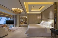 gypsum ceiling designs for bedroom, false ceiling pop design 2019 Design Pop, Bedroom Pop Design, Bed Design, Design Ideas, Best False Ceiling Designs, Pop False Ceiling Design, False Ceiling Living Room, Bedroom Ceiling, Bedroom Lighting